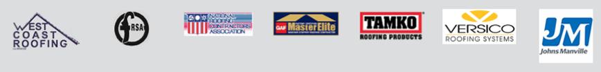 row of business logos